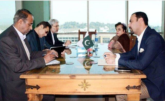 ملاقات سفیر ایران با وزیر حقوق بشر پاکستان