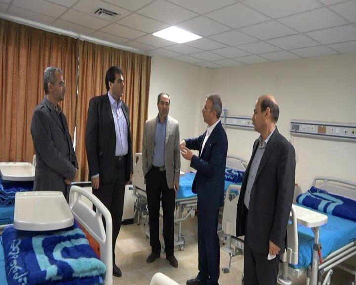 خبرنگاران بخش جدید کرونا در بیمارستان حضرت ولیعصر (عج) مشگین شهر راه اندازی شد