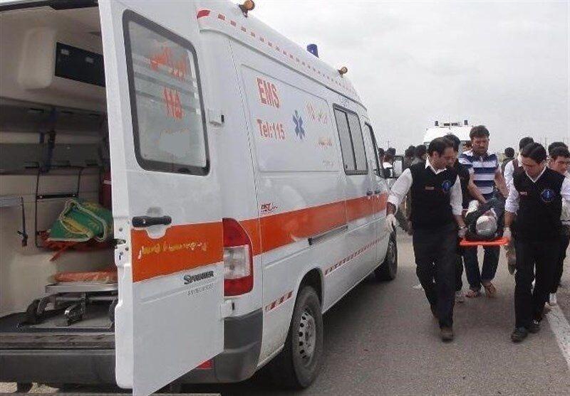 خبرنگاران سانحه رانندگی در بجستان هفت مصدوم داشت