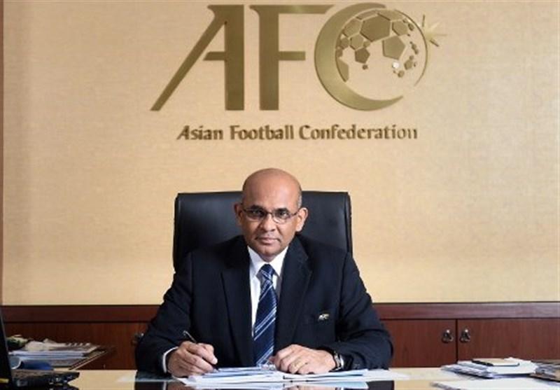 نامه تبریک دبیرکل AFC به نبی و تاکید بر حمایت از فوتبال ایران، فیفا هم دبیرکلی نبی را پذیرفت
