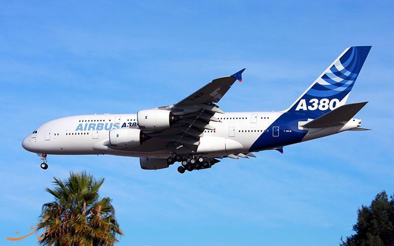 توقف ساخت بزرگ ترین هواپیمای جهان، ایرباس A380