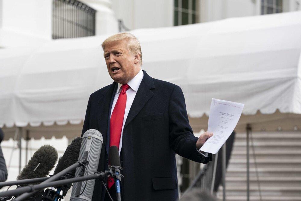 ترامپ: گارد ملی به اعتراضات سرانجام داد، 10 سال طول می کشد که اقتصاد آمریکا احیا شود