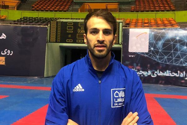 با تیمی قدرتمند راهی توکیو می شویم ، سرباز کاراته ایران هستم