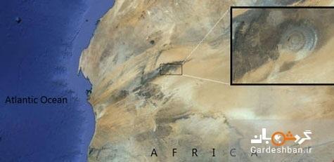 چشم زیبای صحرا؛ جاذبه عجیب صحرای موریتانی