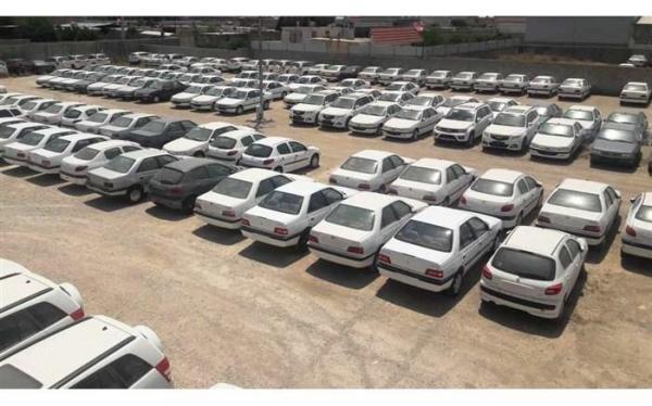 پارکینگ احتکار خودرو در غرب تهران لو رفت