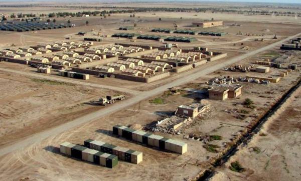 ائتلاف آمریکایی قسمتی از پایگاه نظامی عین الاسد عراق را تخلیه کرد